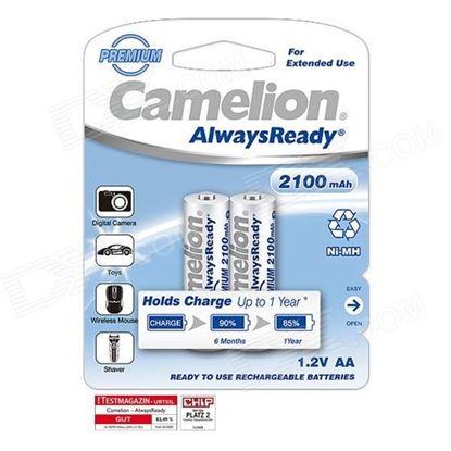 تصویر باتری قلم شارژی Camelion 2100Mah