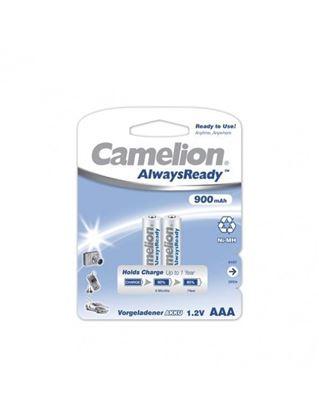 تصویر باتری شارژی نیم قلمی Camelion 900 میلی آمپر