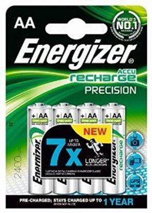 تصویر باتری قلم 2 عددی شارژی Energizer 2400mah