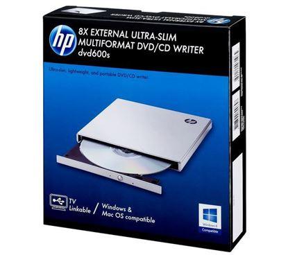 تصویر دی وی دی رایتر اکسترنال HP DVD600S