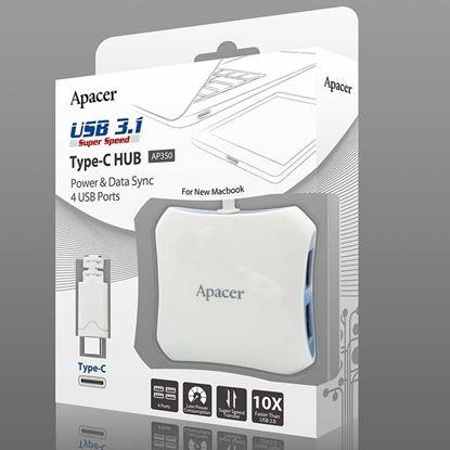 تصویر هاب AP350 USB 3.1 Type-C