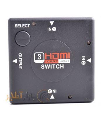 تصویر هاب سوئیچ 4 پورت HDMI