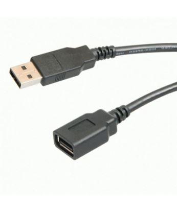تصویر کابل افزایش طول USB Stecker 5m