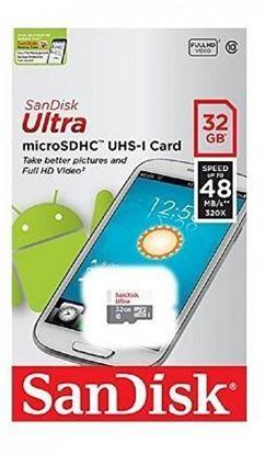 تصویر مموری میکروSanDisk  UHS1 Class10 48MB   32GB