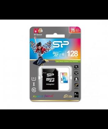 تصویر رم میکرو Silicon Power 64GB Class 10 Elite Color