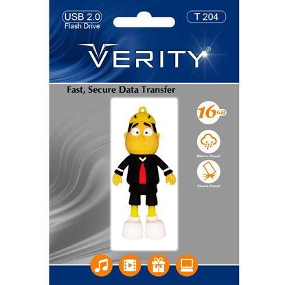 تصویر فلش مموری عروسکی  Verity  T204   16GB