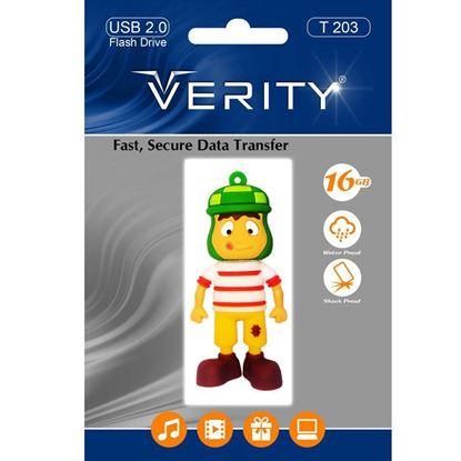 تصویر فلش مموری عروسکی  Verity  T203   16GB
