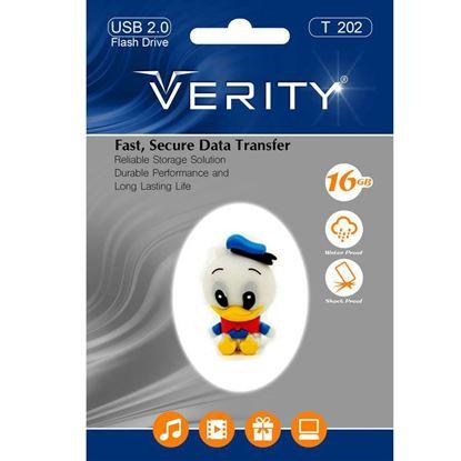 تصویر فلش مموری عروسکی  Verity  T202   16GB