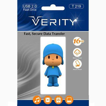 تصویر فلش مموری عروسکی  Verity  T219   8GB
