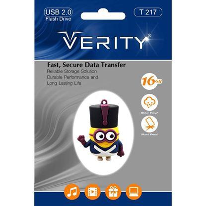 تصویر فلش مموری عروسکی  Verity  T217   8GB