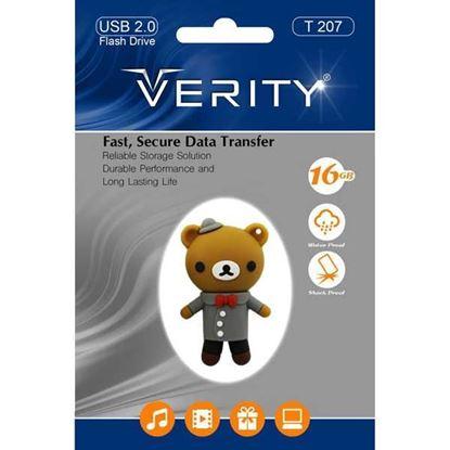 تصویر فلش مموری عروسکی  Verity  T207   8GB