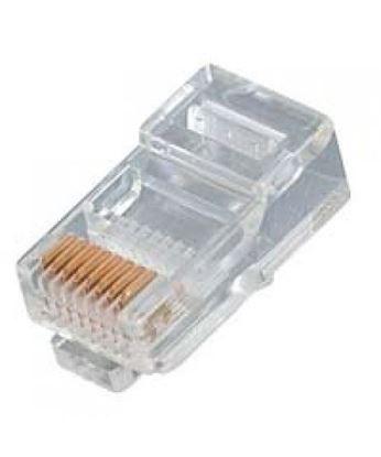 تصویر 100 عدد سوکت شبکه Cat5 Pnet