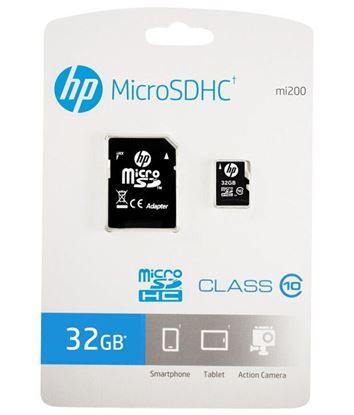 تصویر رم میکرو HP  32G class10  با آداپتور