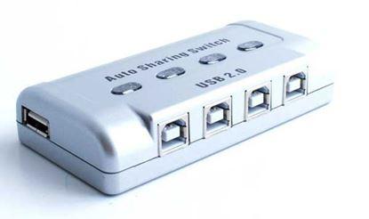 تصویر دیتا سوئیچ 4 پورت USB اتوماتیک