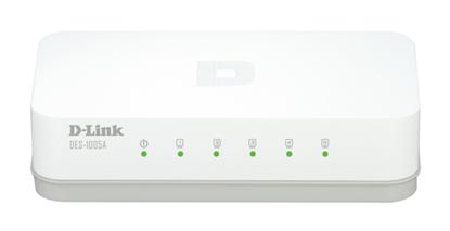 تصویر سوئیچ شبکه 5 پورت D-LINK DES-1005A