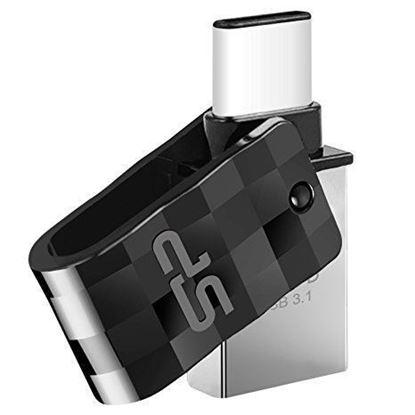 تصویر فلش مموری Silicon Power Mobile OTG  C31  USB3   64G