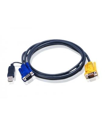 تصویر کابل KVM Usb  Pnet درجه یک