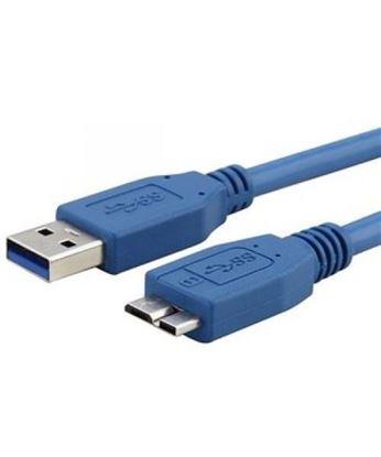 تصویر کابل هارد اکسترنال USB3   Pnet 0.3m