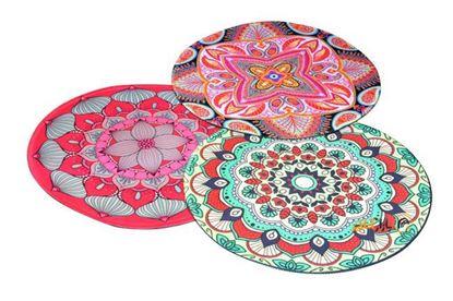 تصویر پد ماوس G-7 طرح فرش