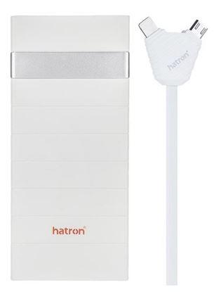 تصویر پاور بانک 4 خروجی Hatron  HPB24000  24000mah فست شارژ