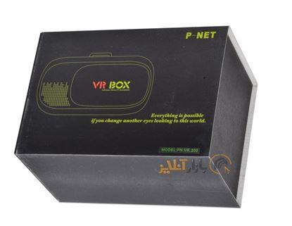 تصویر عینک واقعیت مجازی کنترل دار  Pnet  VR200