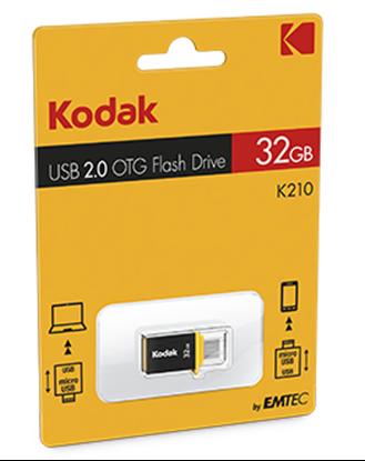 تصویر فلش مموری Kodak  K210   OTG    8GB