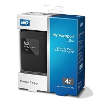 تصویر هارد اکسترنال  Western Digital My Passport Ultra Premium   1T