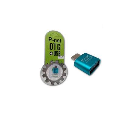 تصویر تبدیل  Otg  Type C  Pnet  T-40