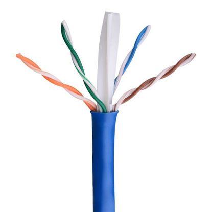 تصویر کابل شبکه Knet Plus 305m cat6 UTP تست فلوک
