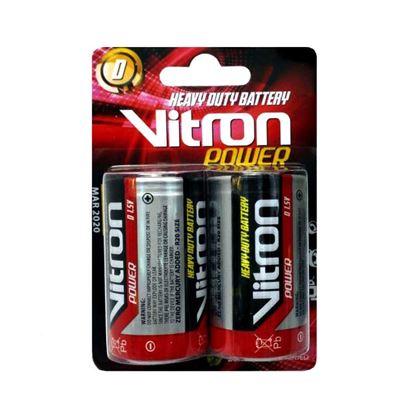 تصویر باتری بزرگ کارتی VITRON