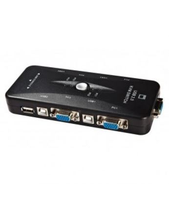 تصویر  KVM Usb 4 Port V-net دستی