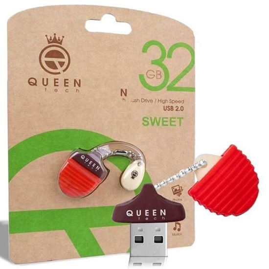 تصویر  فلش Queen Tech Sweet 32GB